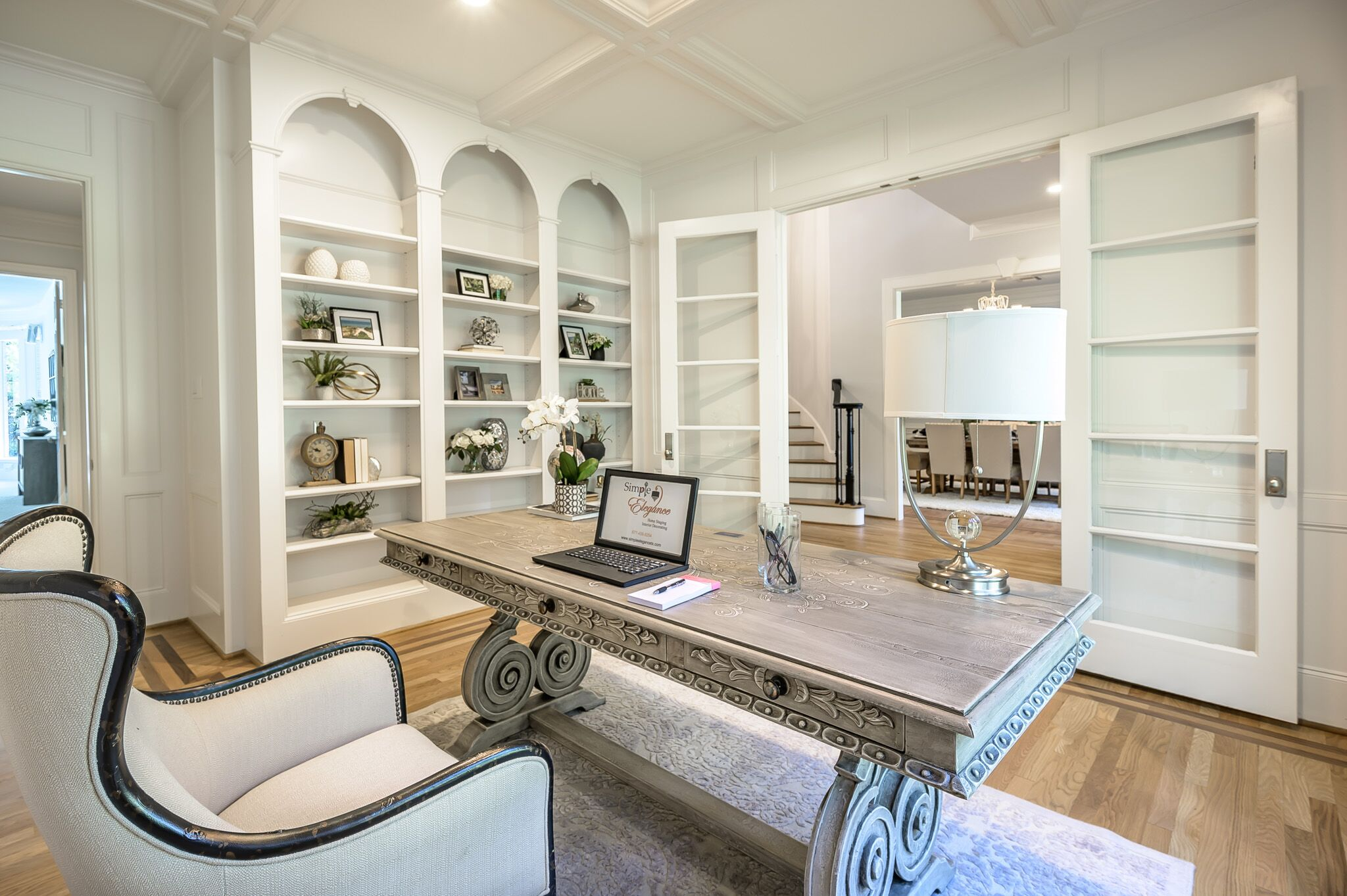 Simple Elegance Houston The Woodlands Tx Vacant Home Staging Interior Design Services