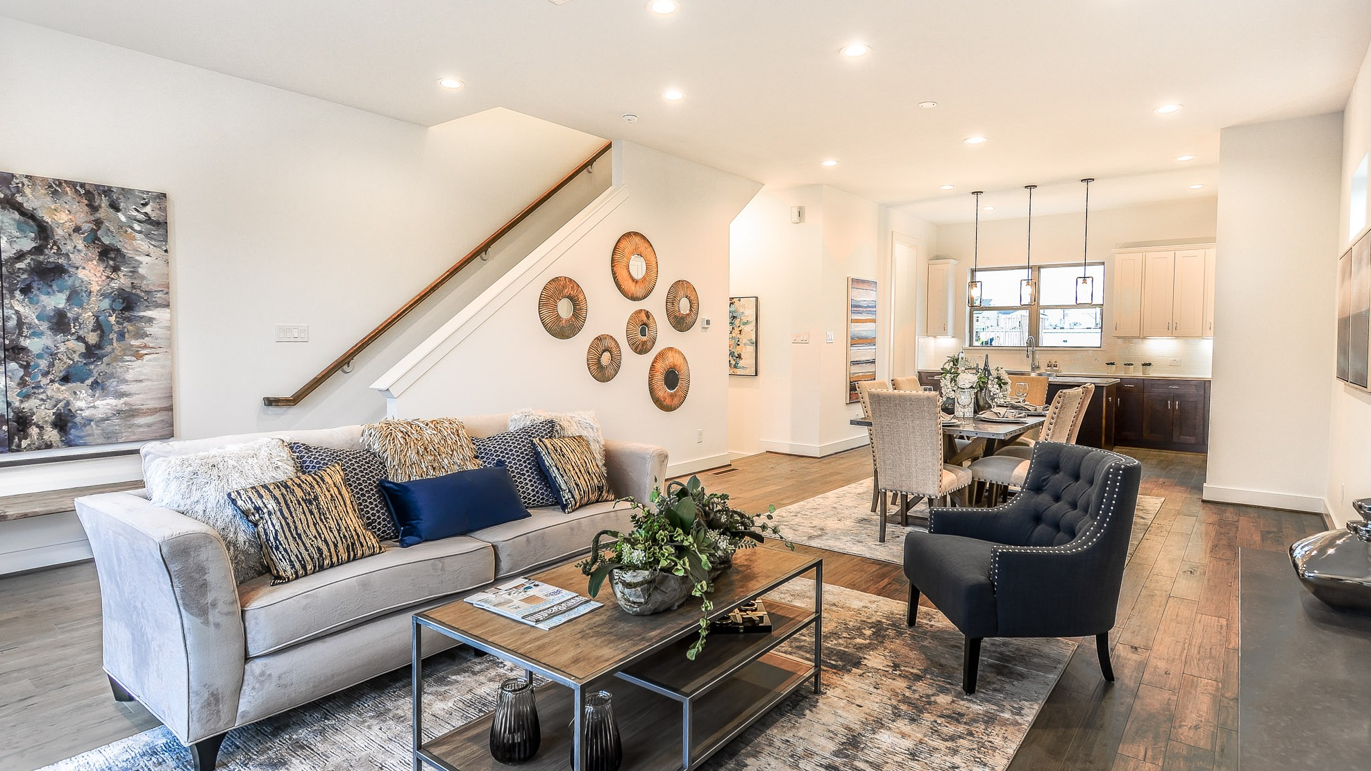 Simple elegance the woodlands tx home staging - Interior designers the woodlands tx ...